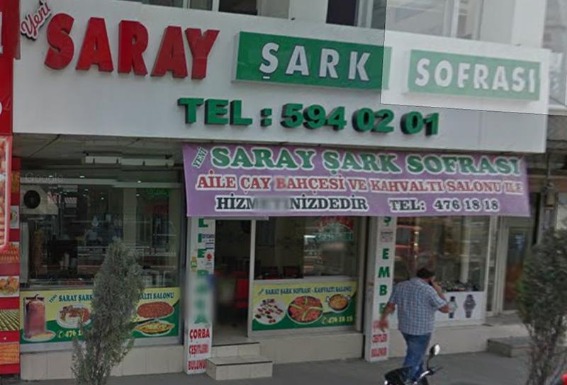 Yeni Saray Şark Sofrası Cebeci Sultangazi