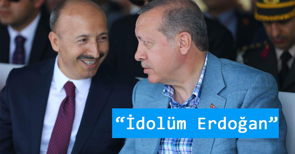 Sultangazi Cahit Altunay ve Recep Tayyip Erdoğan