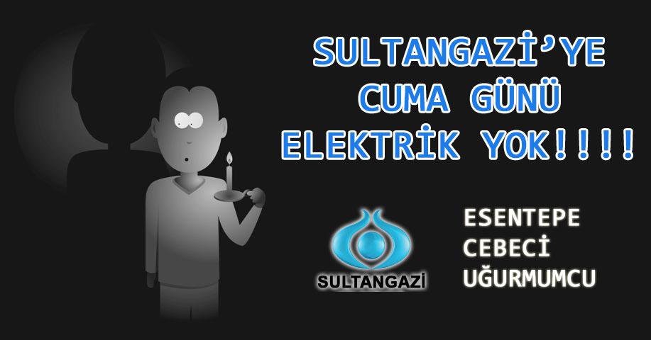 Sultangazi Elektrik Kesintisi Cebeci Uğurmumcu Esentepe