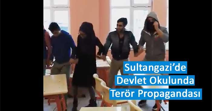 Sultangazi Çok Programlı Anadolu Lisesi Terör Propagandasi APO Türki Halay