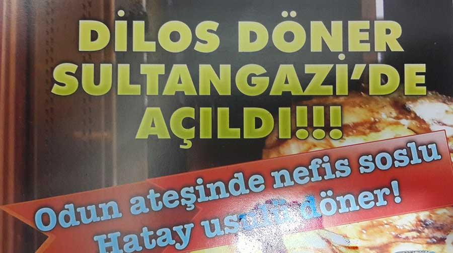 Dilos Döner Cebeci Sultangazi Hatay Döner